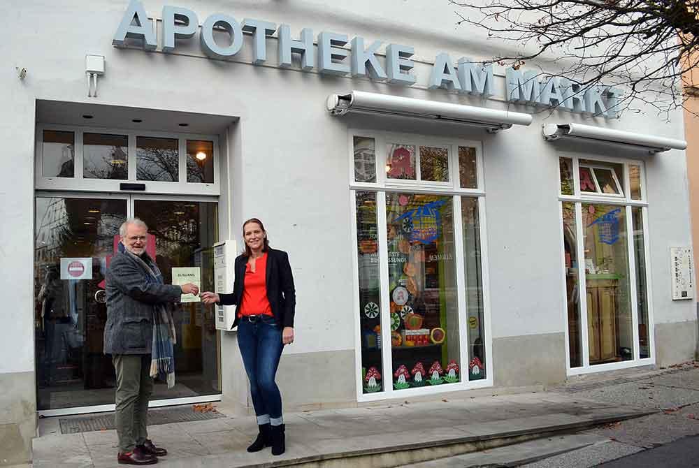 Die Apotheke am Markt in Hildburghausen hat eine neue Inhaberin