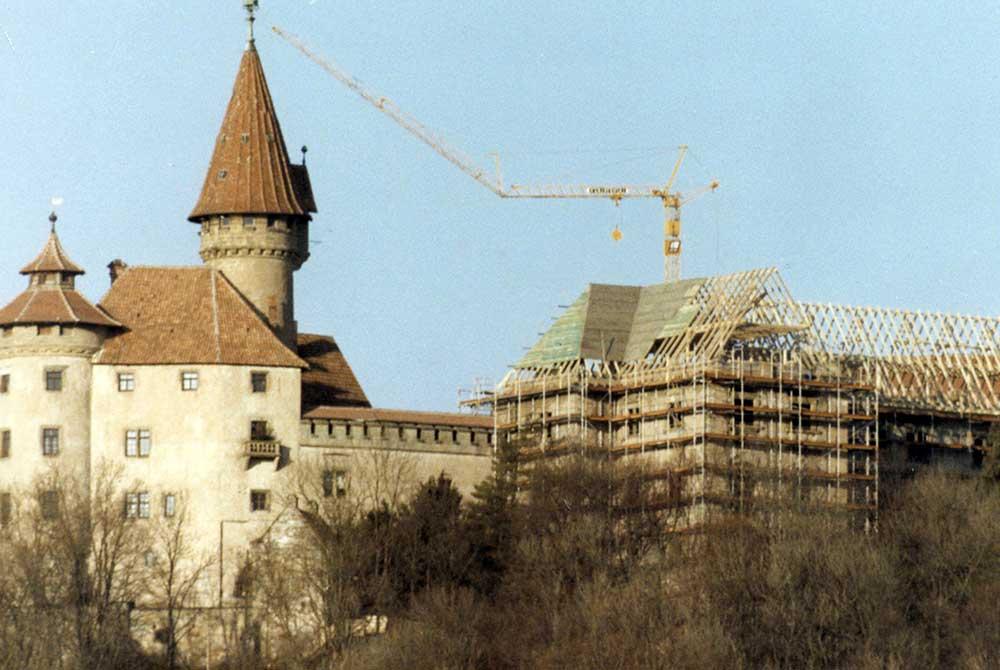 30 Jahre Rettung der Veste Heldburg: Jahrestag des Richtfests am Nikolaustag