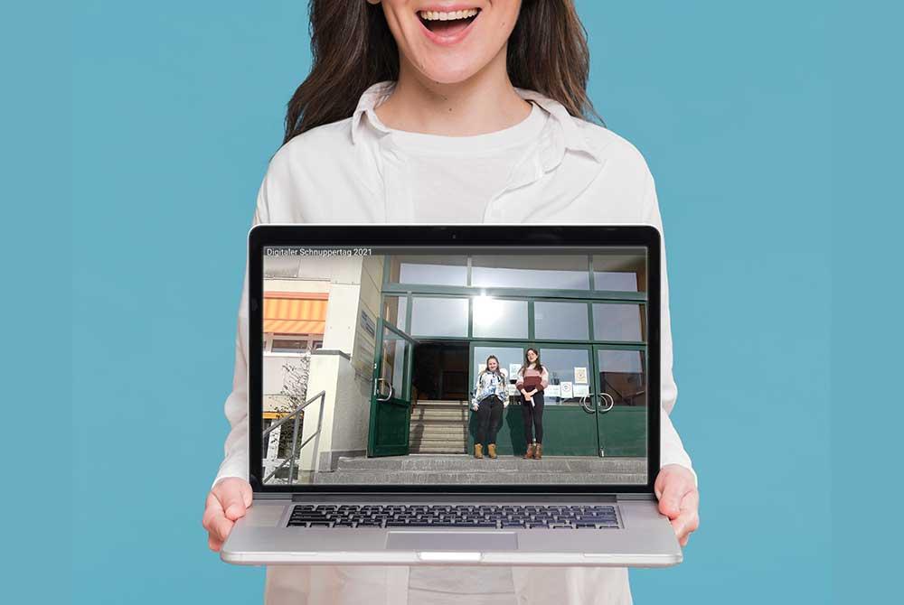 Digitaler Schnuppertag an der Nonne-Regelschule