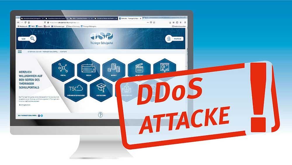 Hackerangriff: Thüringer Schulcloud am Montagmorgen lahmgelegt