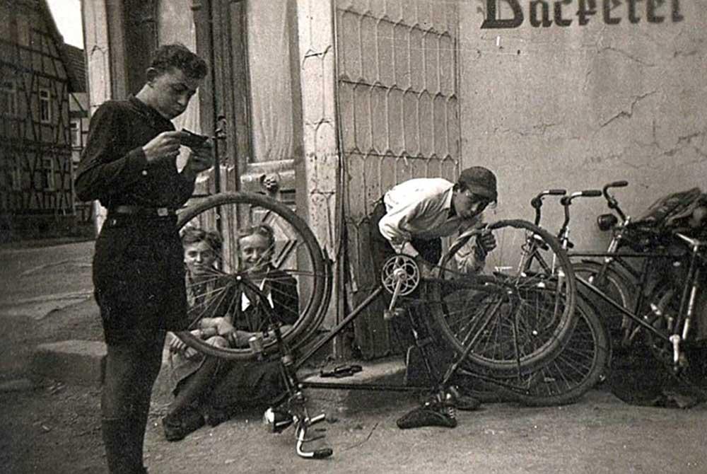 Fahrradtour vor 70 Jahren