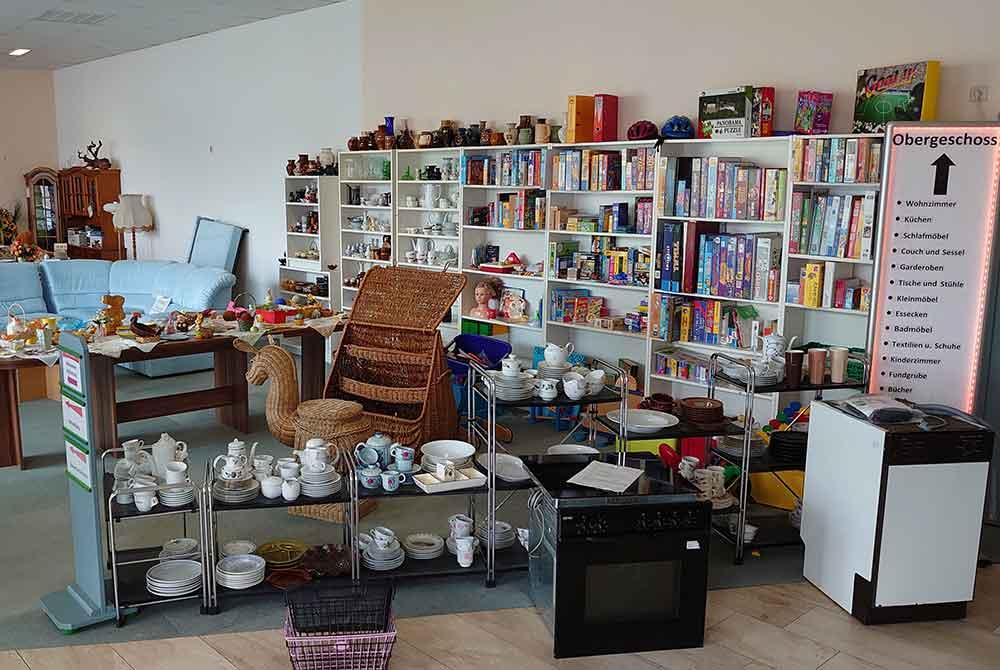 Hildburghäuser Sozialkaufhaus: Wer Möbel oder Hausrat aller Art zur Verfügung stellt, hilft Bedürftigen