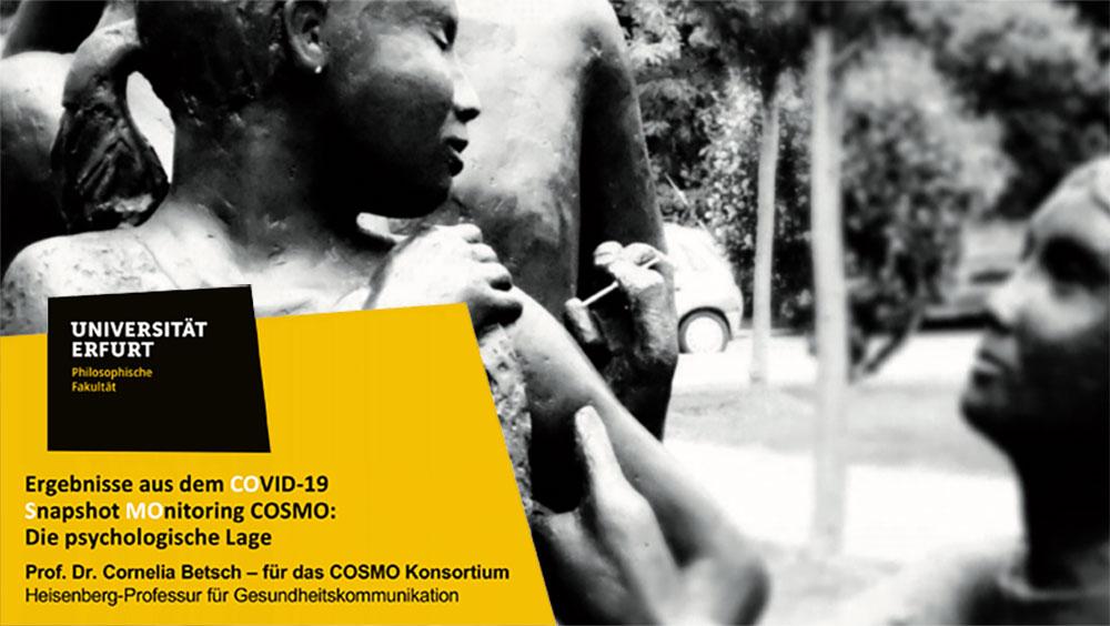 Erfurter COSMO-Studie: Erfragte Impfbereitschaft reicht nicht für eine Herdenimmunität