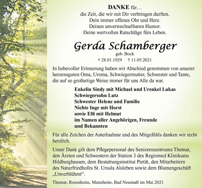 Danksagung_Gerda_Schamberger