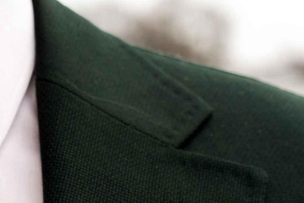 Herrn Bürgermeister Other seine Jacke ist tief schwarz