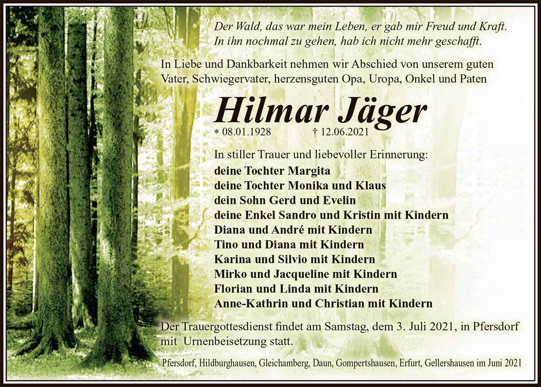 Trauer_Hilmar_Jaeger