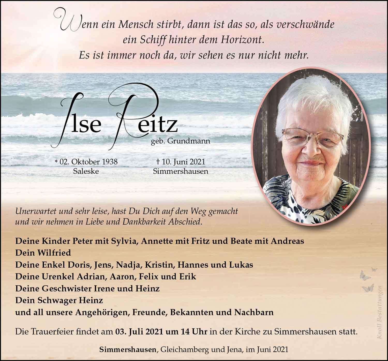 Trauer_Ilse_Reitz