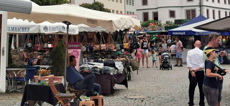 Verkaufsoffener Sonntag: Hildburghausen lädt zum Bummeln ein