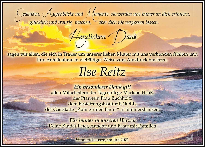 Danksagung_Ilse_Reitz