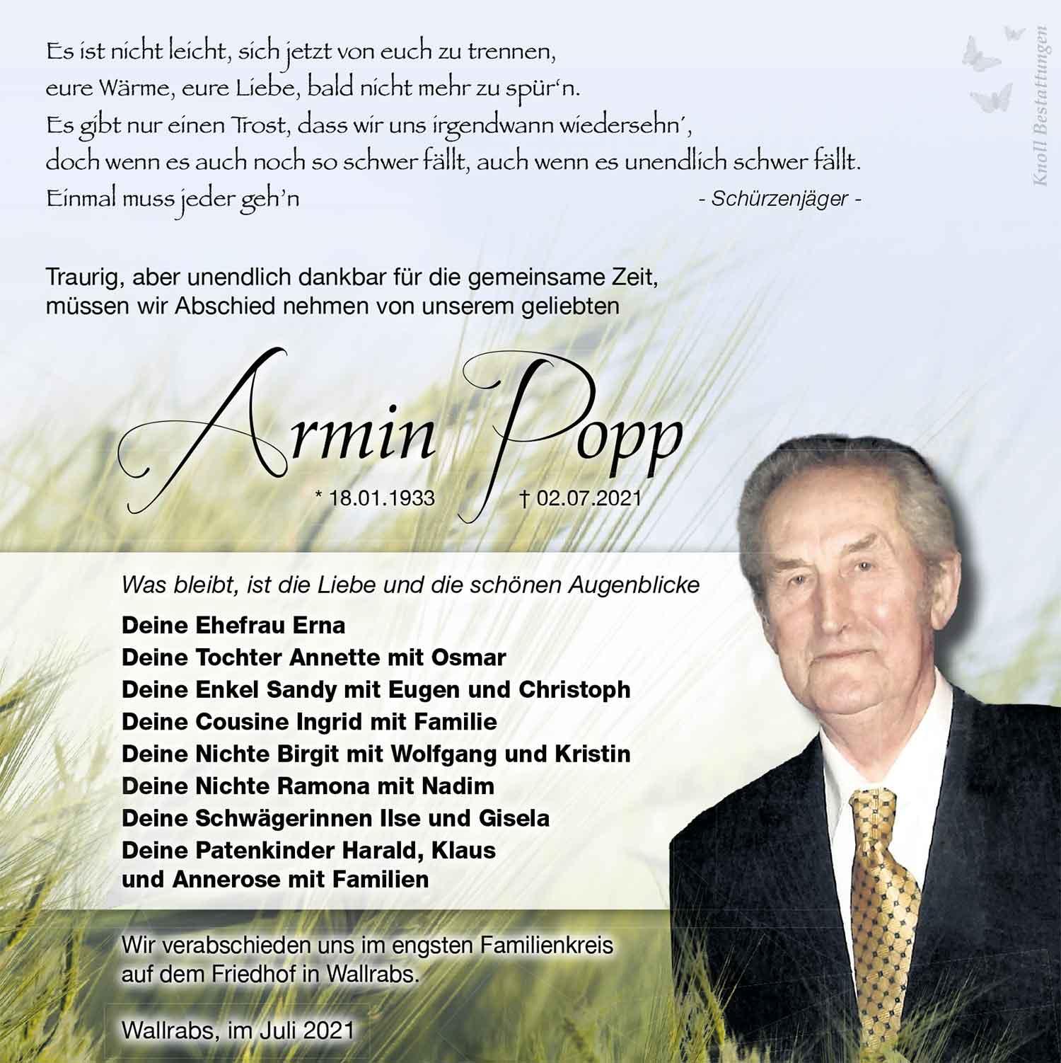 Trauer_Armin_Popp