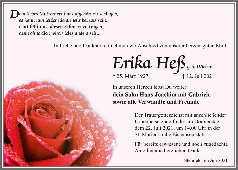 Trauer_Erika_Hess