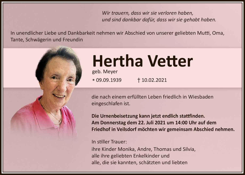 Trauer_Hertha_Vetter