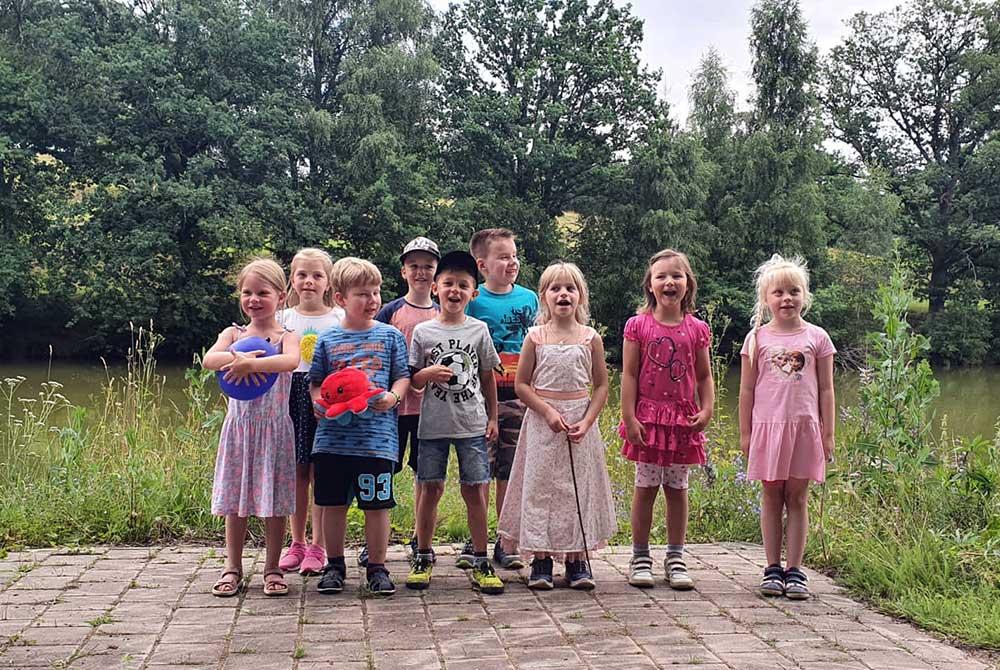 """Kindergarten """"Parkmäuse"""" verabschiedet Vorschulkinder mit Zuckertütenfest"""