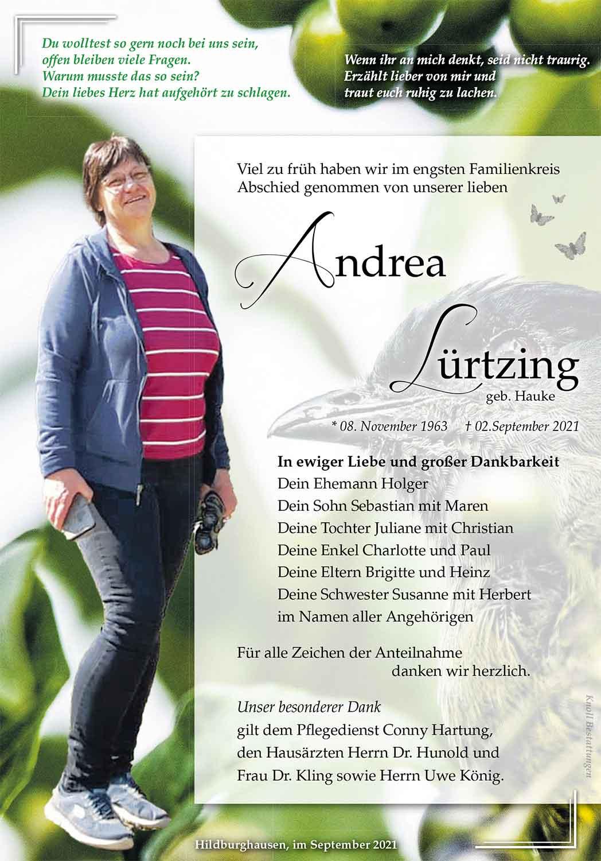 Trauer_Andrea_Luertzing