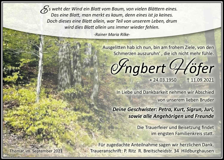 Trauer_Ingbert_Hoefer