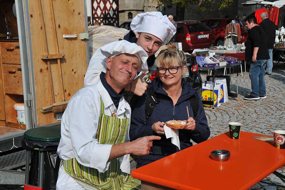 Die Stadt Eisfeld lädt ein: Herbstmarkt, Trödelmarkt und Heimatshoppen