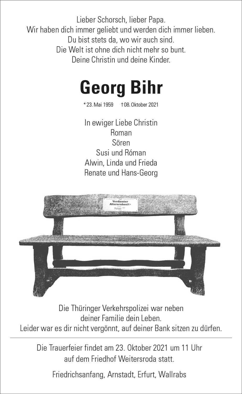 Trauer_Georg_Bihr
