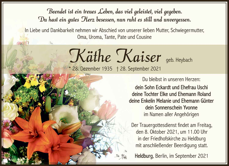 Trauer_Kaethe_Kaiser